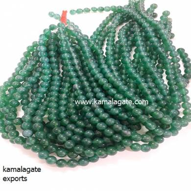Green Onex 8 mm Loose Beads For Jewelry Making