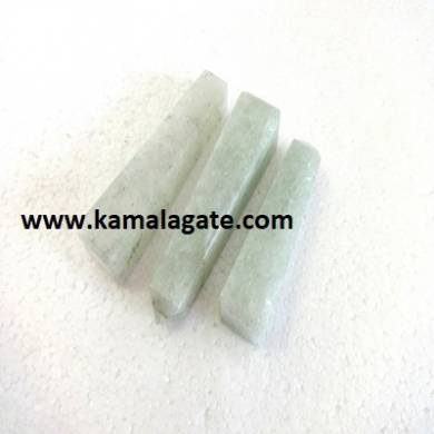 Green Quartz Gemstone Towers