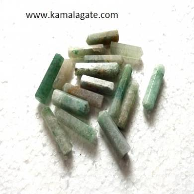 Grass Aventurine Single terminated pencile point