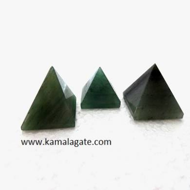 Grass Aventurine Small Pyramid