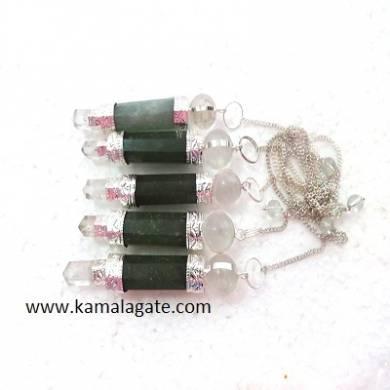 Green Aventurine Stick Pendulums