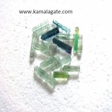Green Flourite Single terminated pencile point