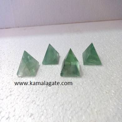 Green Flourite Small Pyramid