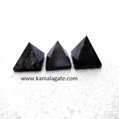 Gun Metal Small Pyramids
