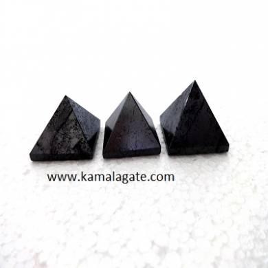 Gun Metal Small Pyramids