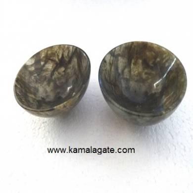 Labrodolite 2  inch bowls
