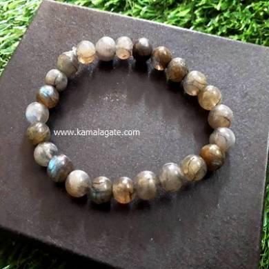 Labrodolite 8mm Beads Bracelets
