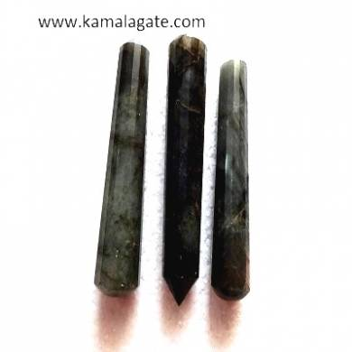Labrodolite Faceted massage wands
