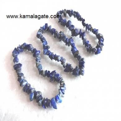 Lapiz Lazuli Chips Bracelets