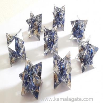 Lapiz Lazuli Orgone Star