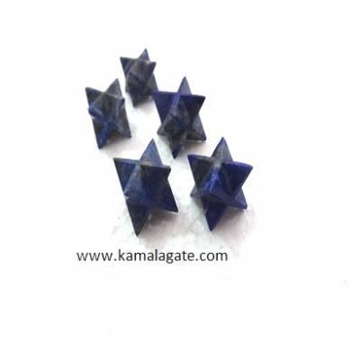 Lapiz Luzuli Merkaba Stars
