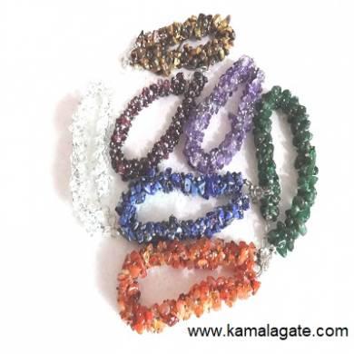 Mix Stone String Bracelets