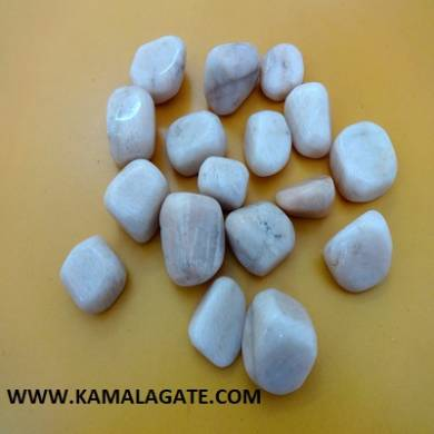 Moonstone Cream Tumble Stone