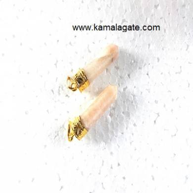 Moonstone Pencil Golden Pendents