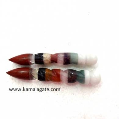 Navgrah Bonded Healing Wands With Cone