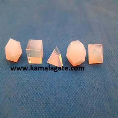 Opelite Five Pieces Geometry Sets