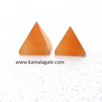 Orange Senolite Big Pyramid