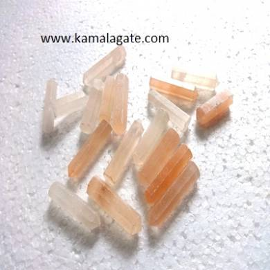 Orange senolite Single terminated pencile point
