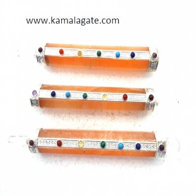 Orange Senolite Seven Chakra Healind Sticks