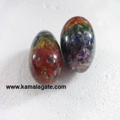 Orgone Chakra Eggs