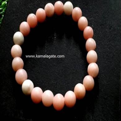 Pink Opal 8mm Beads Bracelet