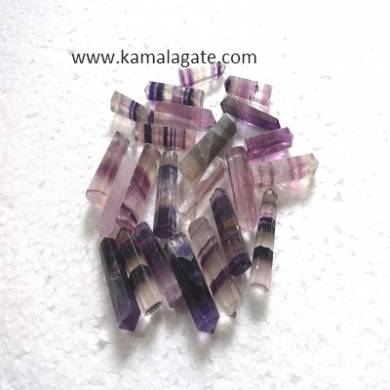 Purple Flourite Single terminated pencile point