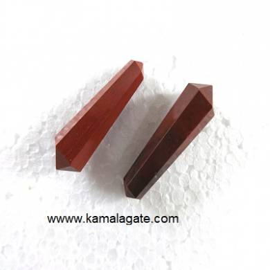Red Jasper Double Point Terminated Pencile