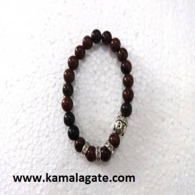 Red Tiger Eye Bhuddha Bracelets