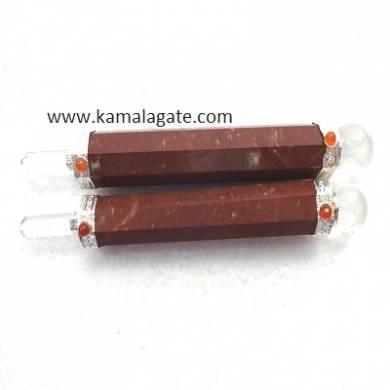 Red Jasper Healing Stick (Plain)