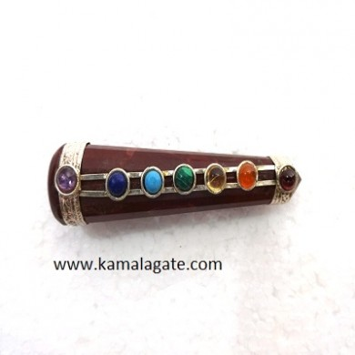 Seven Chakra Special Shape Faceted Healing Sticks