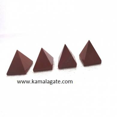 Red Jasper Small Pyramid