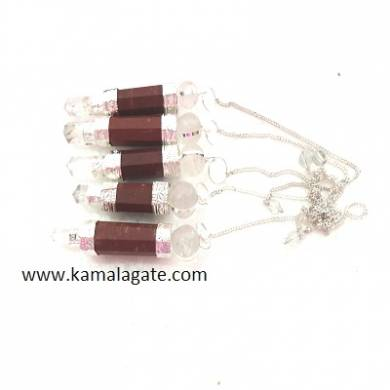 Red Jasper Stick Pendulums