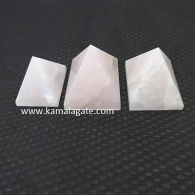 Rose Quartz Big Pyramid