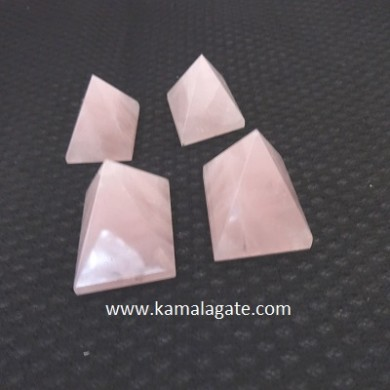 Rose Quartz Small Pyramid
