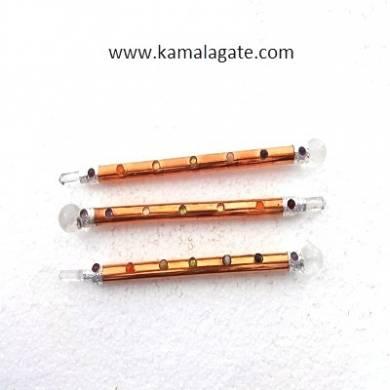 Metal Seven Chakra  Healing Sticks