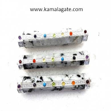 Rainbow Moonstone Seven Chakra Healing Sticks