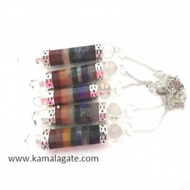 Seven Chakra Sticks Pendulums