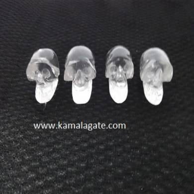 Crystal Quartz Skulls