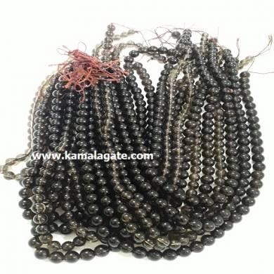 Smokey Quartz 8 mm Loose Beads For Jewelry Making