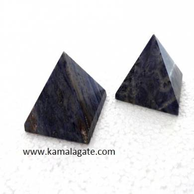 Sodalite Big Pyramid