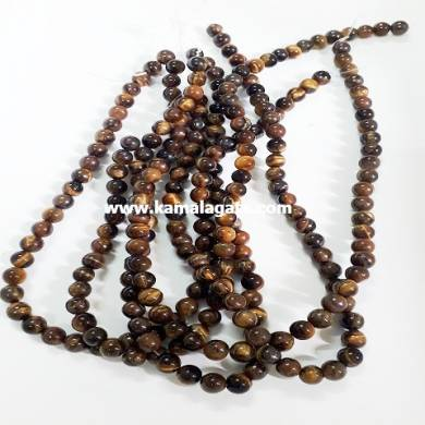 Tiger Eye 8 mm Loose Beads For Jewelry Making