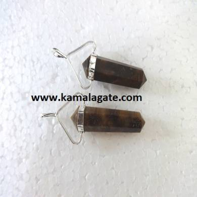 Tiger Eye  Double Point Pencil Pendent