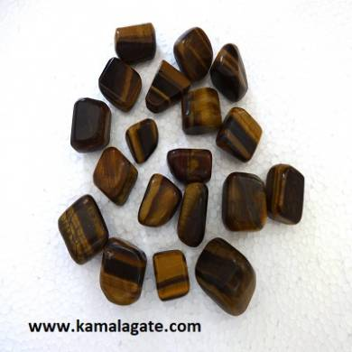 Tiger Eye Tumble Stone
