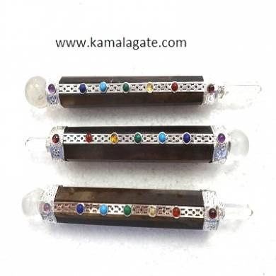 Tiger Eye Seven Chakra Healing Sticks