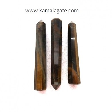 Tiger Eye Obelisks