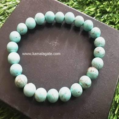 Turquise 8mm Beads Bracelet