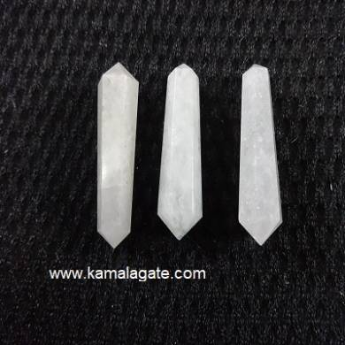 White Senolite Double Point Terminated Pencile