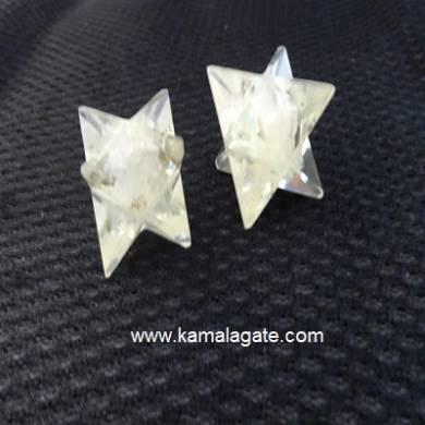 White Senolite Orgone Star