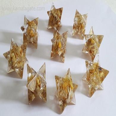 Yellow Aventurine Orgone Star