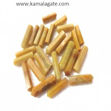 Yellow Aventurine  Single terminated pencile point